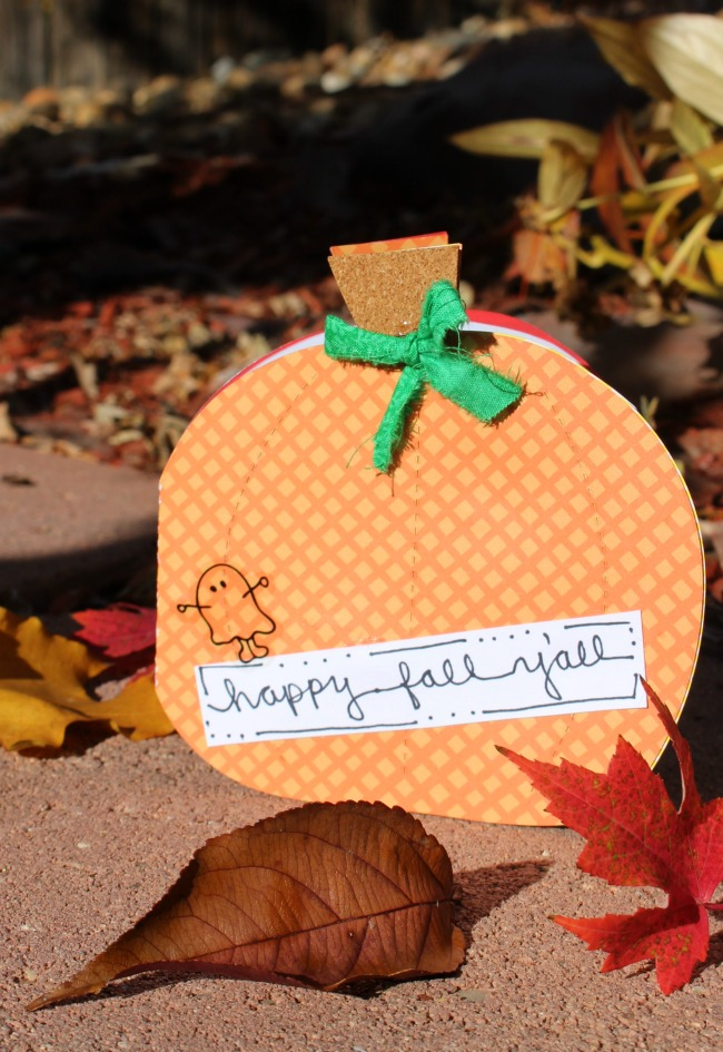 Pumpkin Card Ellison