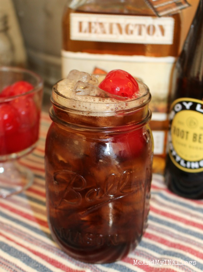 Redneck Whiskey RootBeer Float