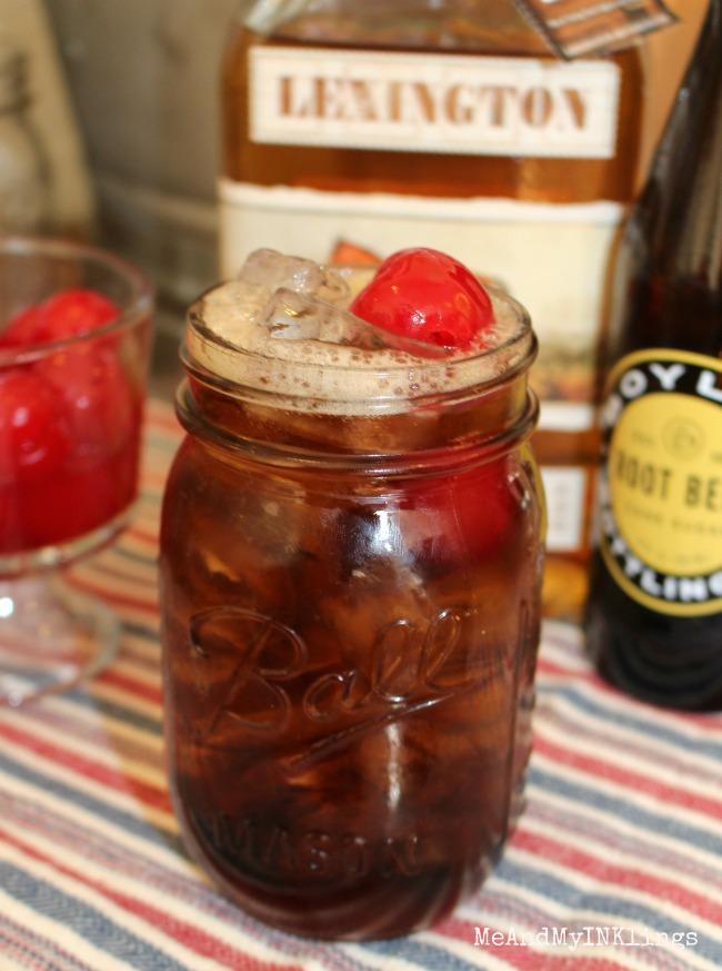 Redneck Whiskey RootBeer Float