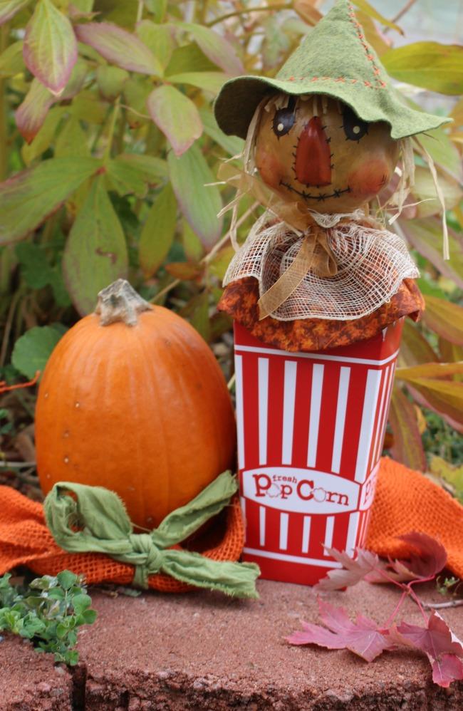 Scarecrow Popcorn Box