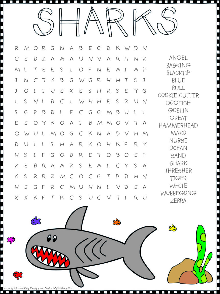 Shark_Wordsearch
