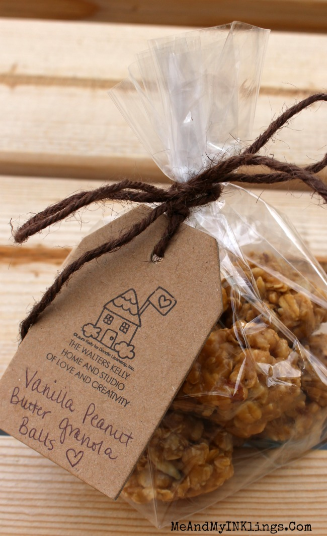 Vanilla Nut Granola Balls Gift