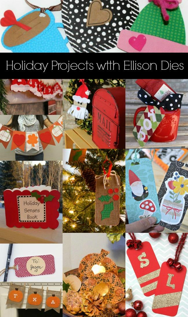Ellison Holiday Collage