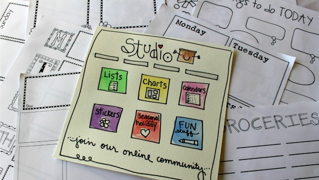 Studio with Organizers blog