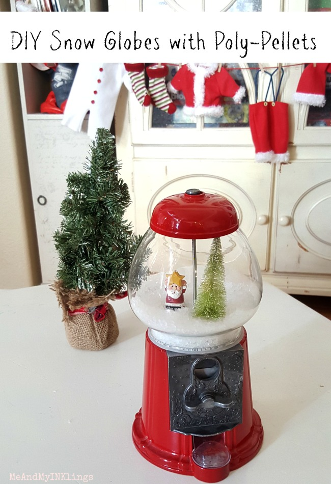 Diy Snow Globes with Poly Pellets