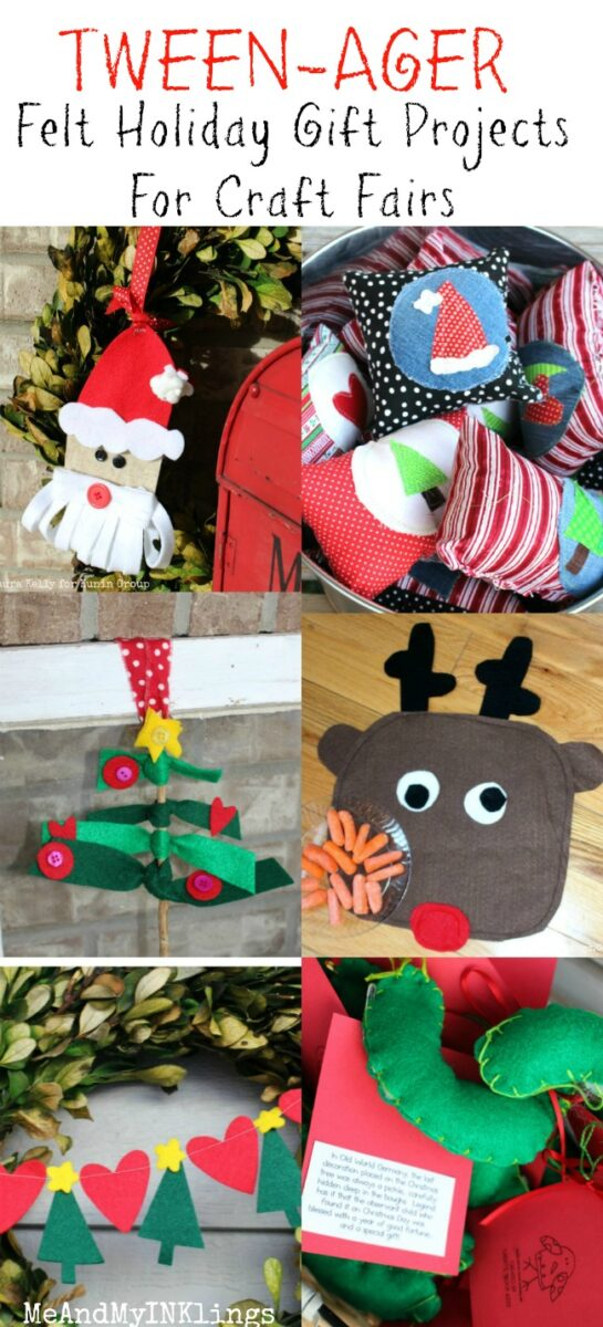 Felt Christmas Crafts for Teenagers
