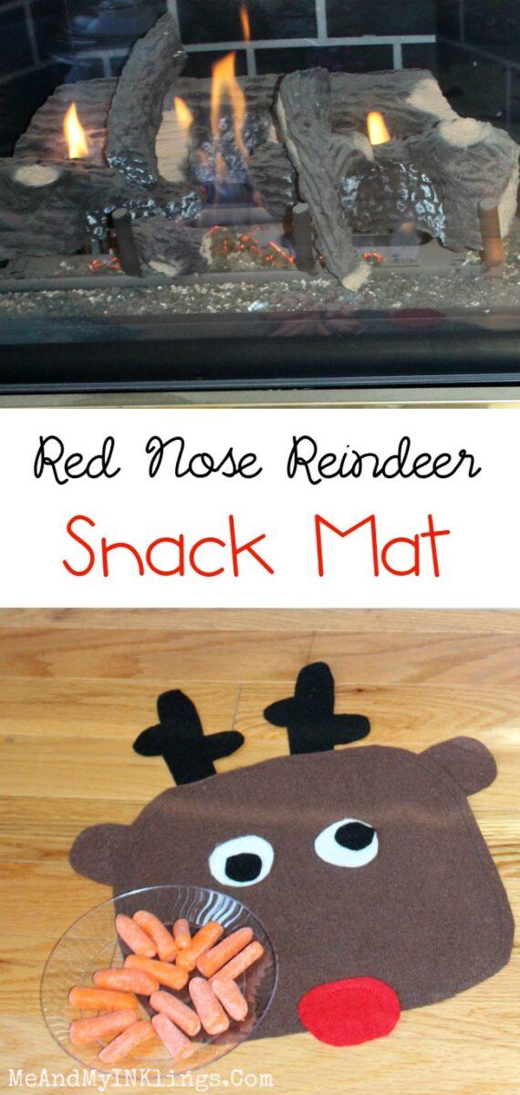 Reindeer Snack Mat