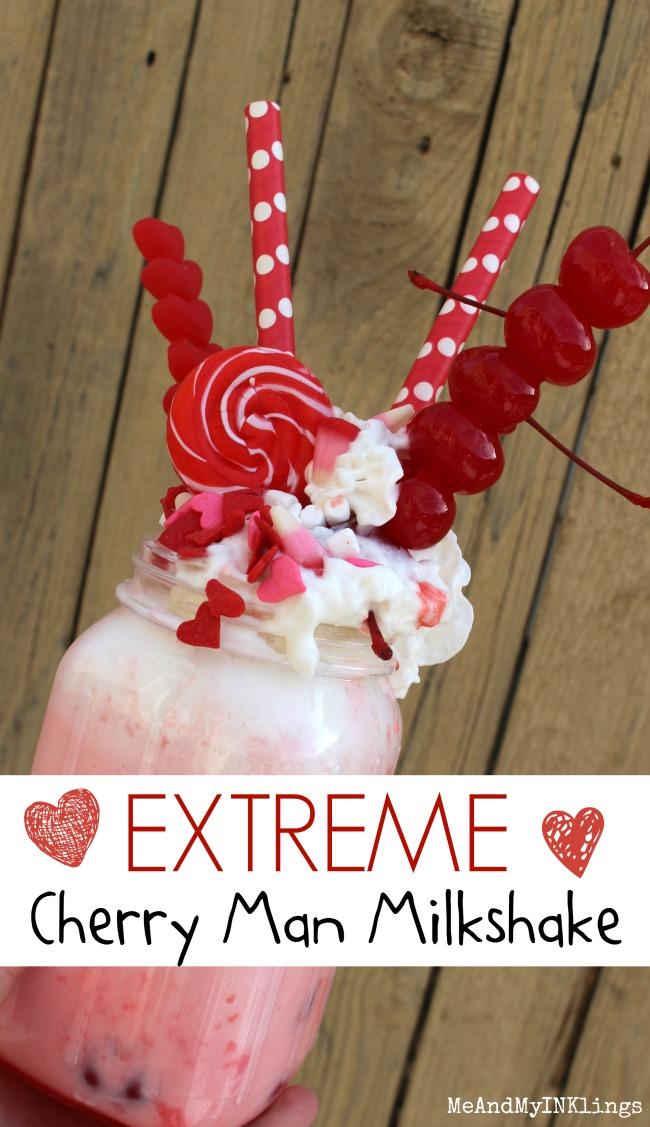 Extreme Cherry Man Milkshake Feature