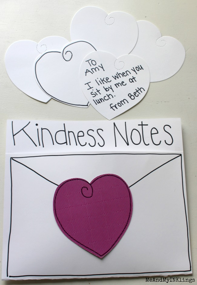 Kindness Notes Ellison Heart