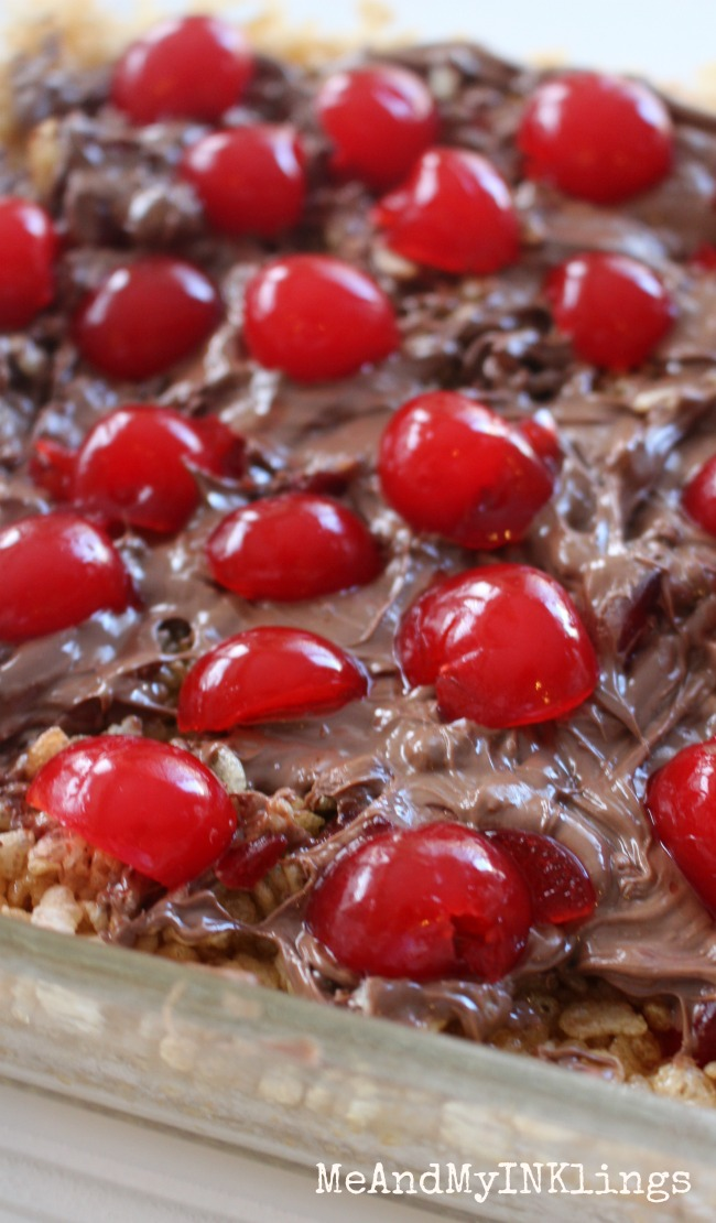 Cherry Man Chocolate Cherry Cereal Bars