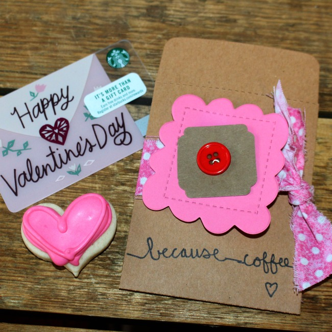 Valentine Card Holder Ellison Badge