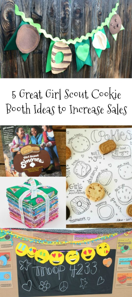 5 Girl Scout Cookie Booth Ideas to Increase Sales