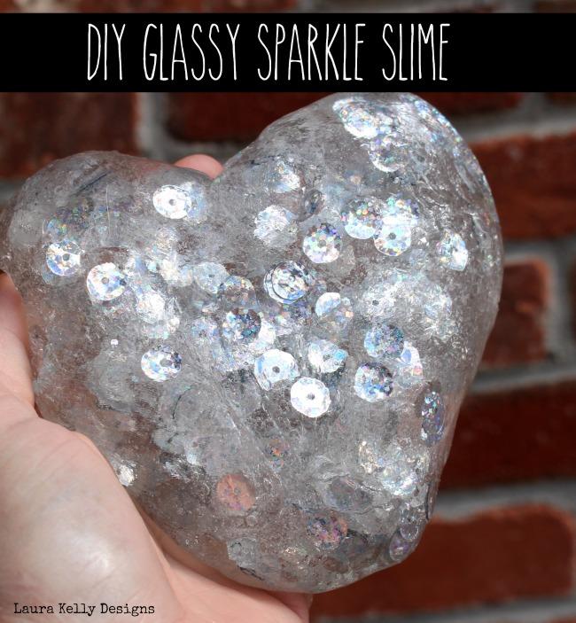 Valentine Slime Glassy Sparkle