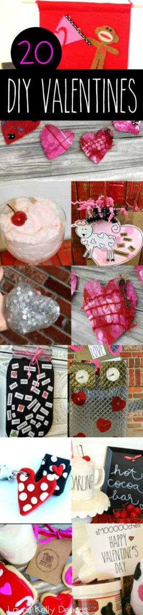 20 Valentines Day Projects DIY for Kids