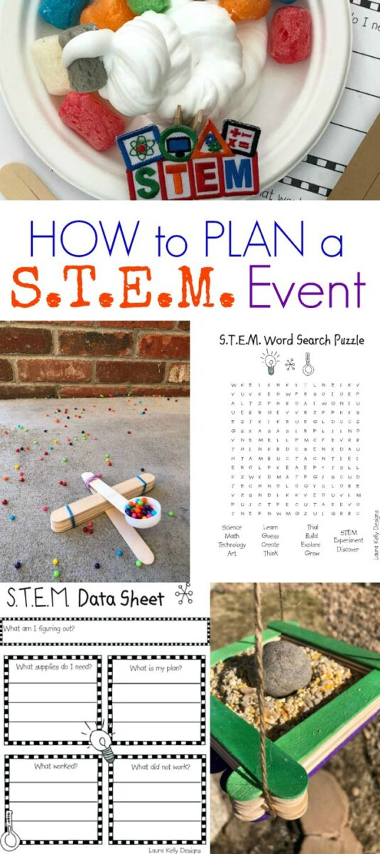 S.T.E.m. Event Planning Guide Girl Scouts Printables