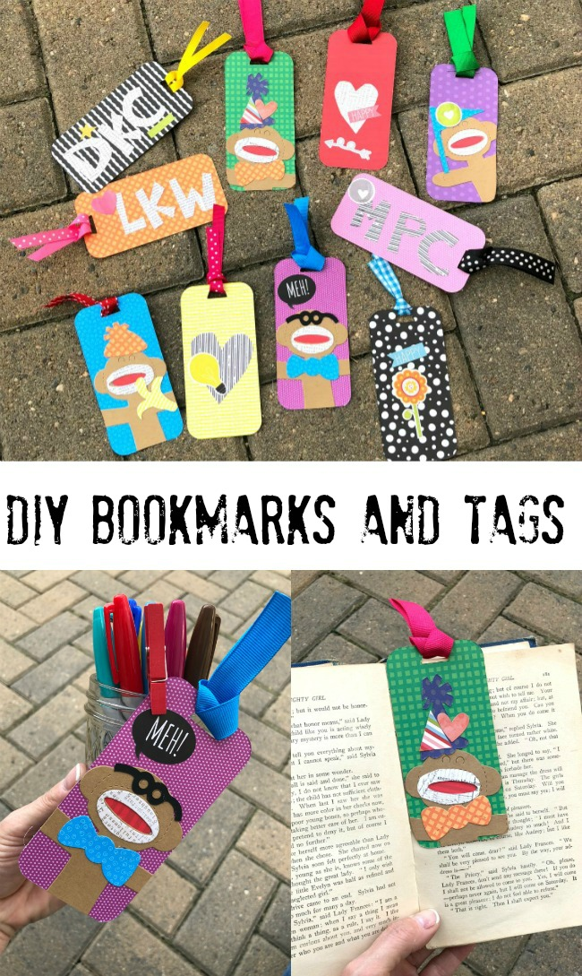 Create a darling Sock Monkey Bookmark in Three Easy Steps