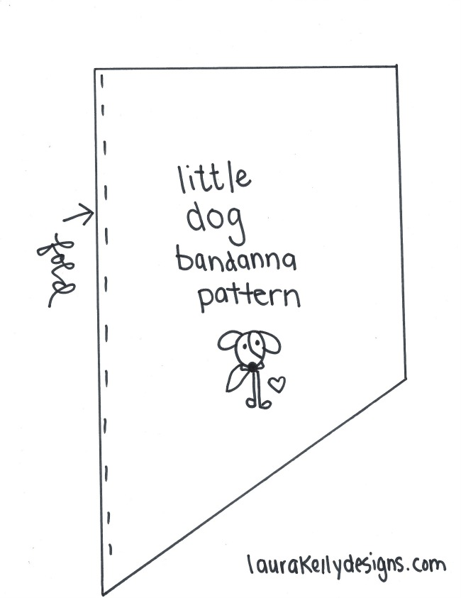 Dog Bandanna Pattern