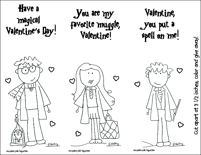 Harry Potter FREE Valentines Day Cards Printable