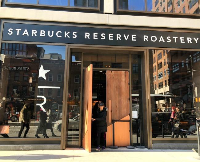 Starbucks Reserve NYC Roastery