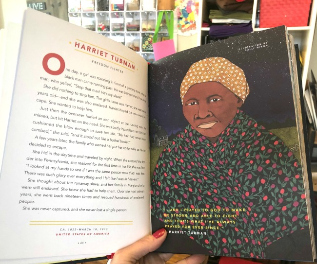 Harriey Tubman Goodnight Stories for Rebel Girls Book One