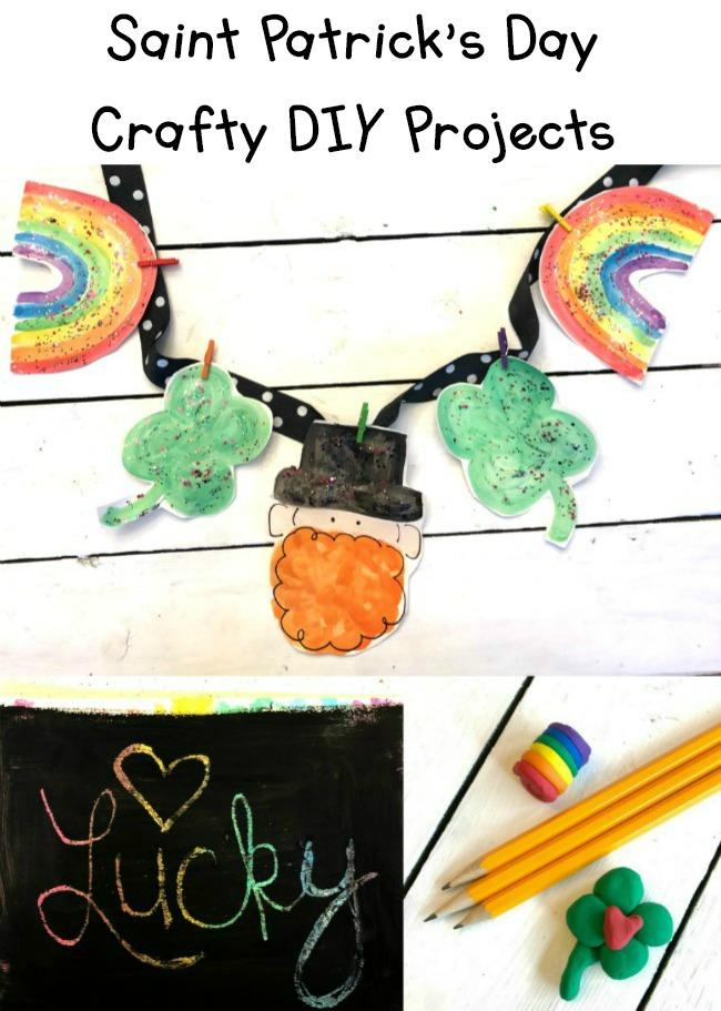 Saint Patricks Day Projects DIY Crafts