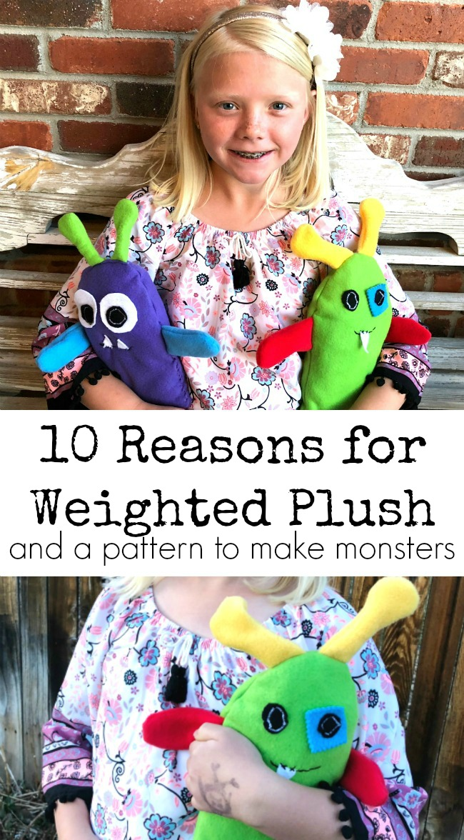 DIY Weighted Plush for Classroom