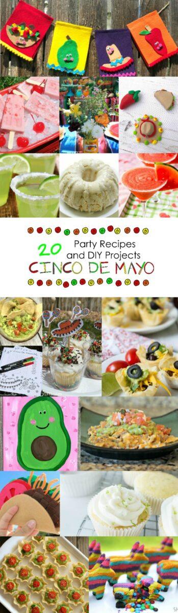 Cinco De Mayo Party Recipes and DIY Decorations