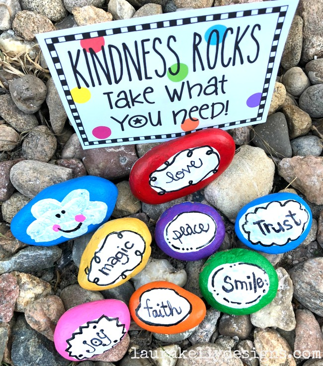 Rock Painting For Kindness