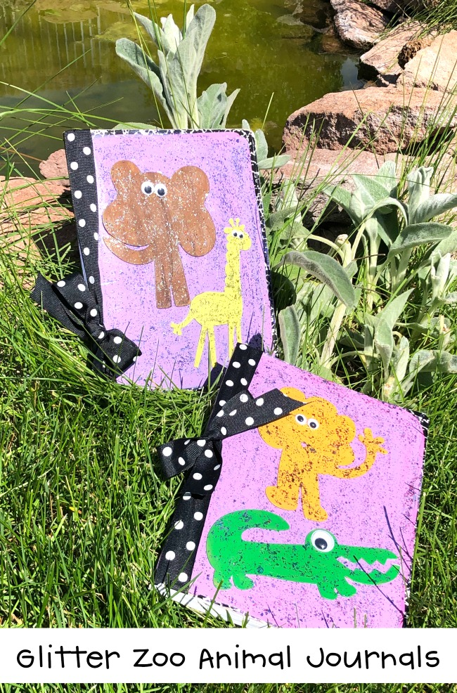 Glitter Zoo Animal Journals