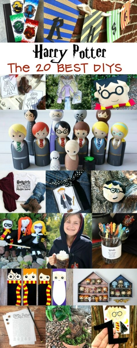 The Twenty Best Harry Potter DIY Craft Projects