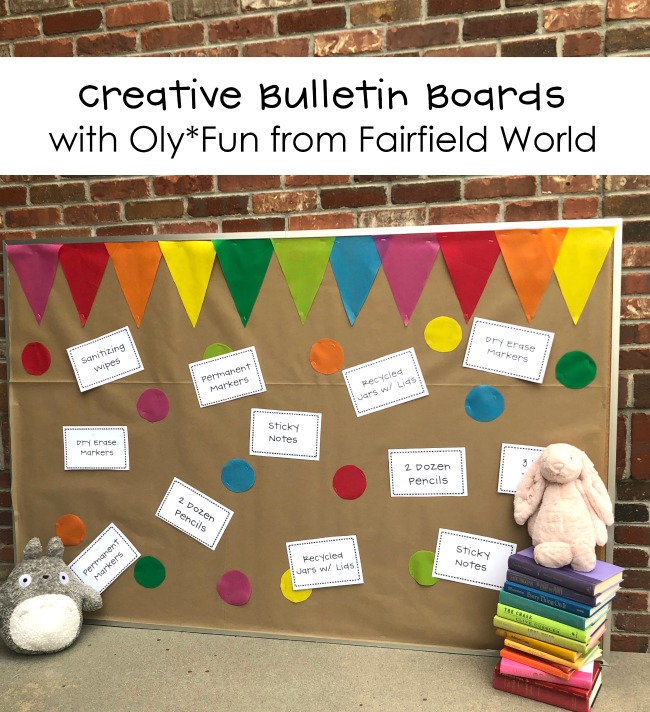 Creative Bulletin Boards with OlyFun by Fairfield World