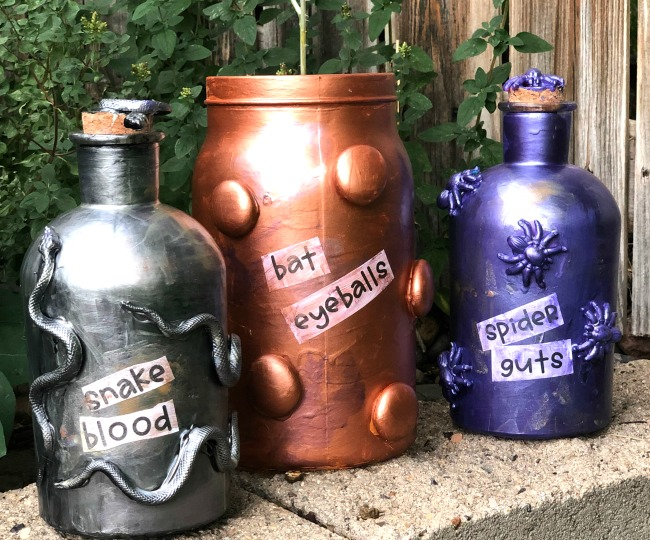 DIY Spell Jar Decorations
