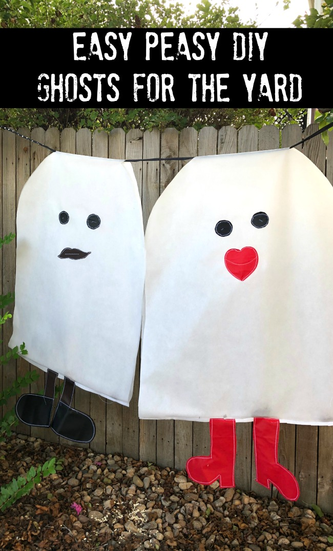 Giant Yard Ghosts