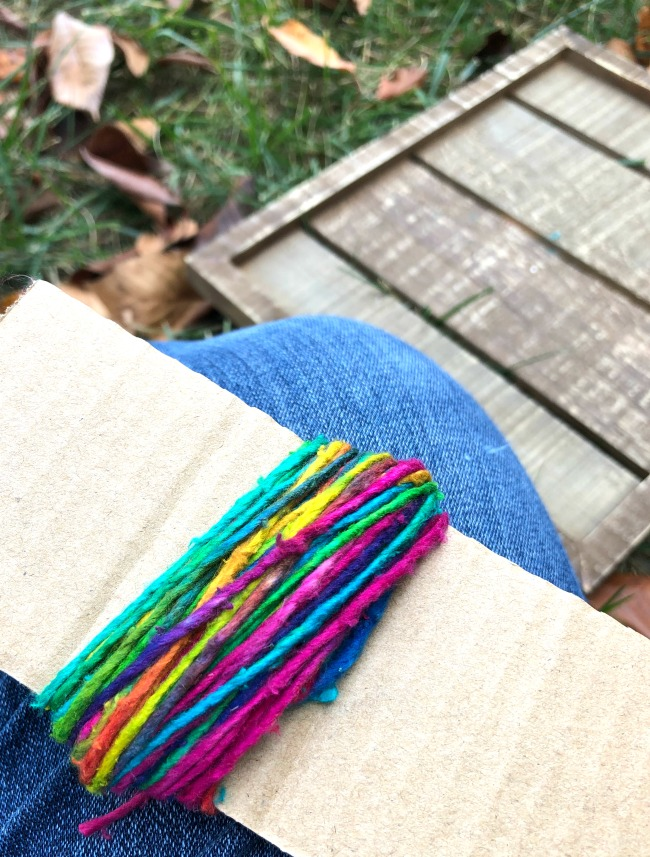 How to Make Pom-Poms Wrapped Yarn