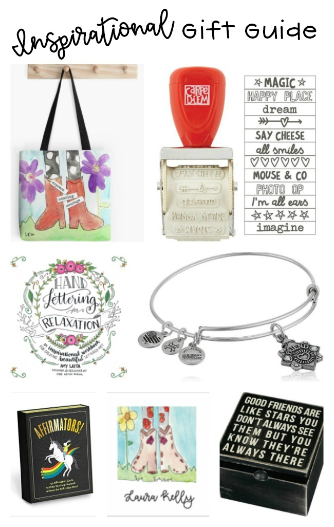 Inspirational Gift Guide for Girls