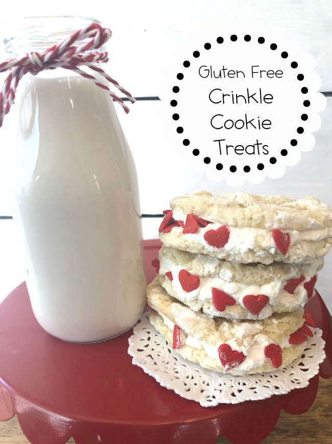 Gluten Free Crinkle Cookie Treats