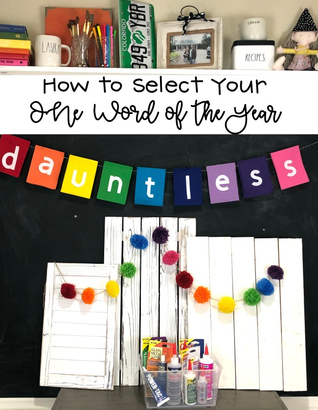 How to Select Your One Word of the Year