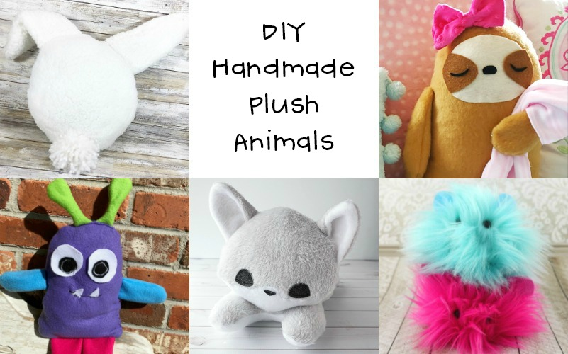 DIY Plush Animals with Polyfil