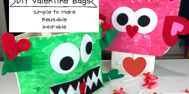 DIY Valentine Bags