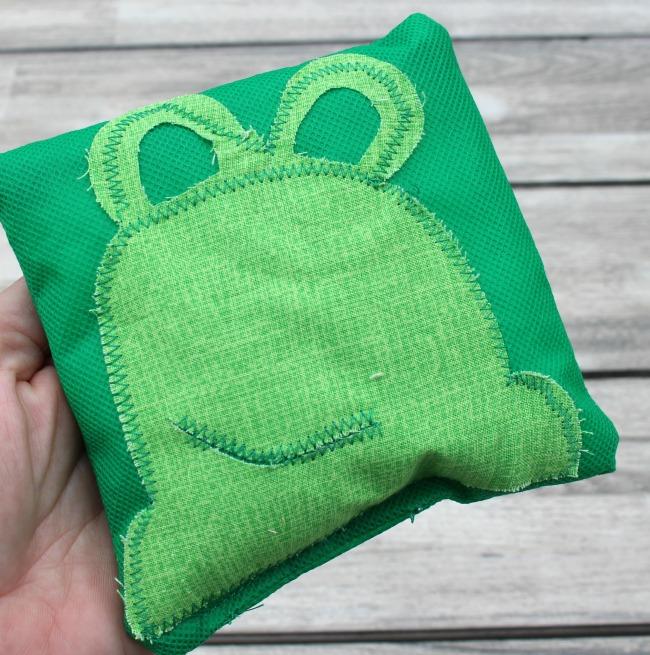 DIY BeanBag Frog for Classroom Games
