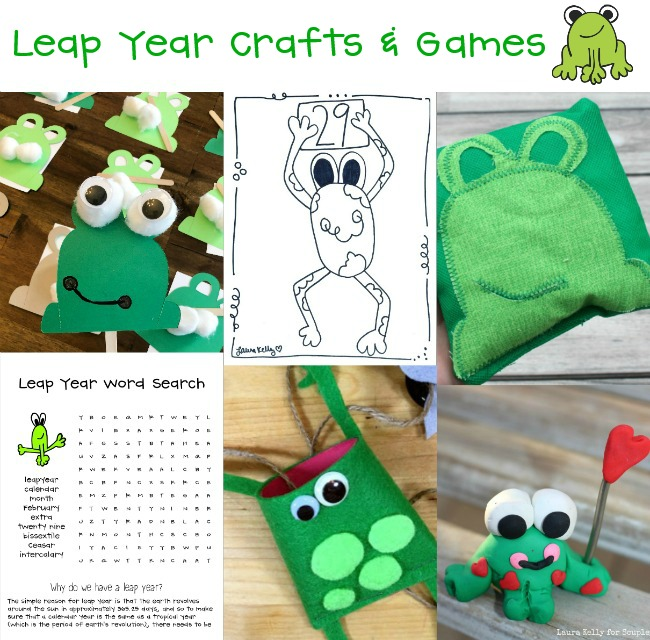 Leap Year Games and Craft Ideas for Kids