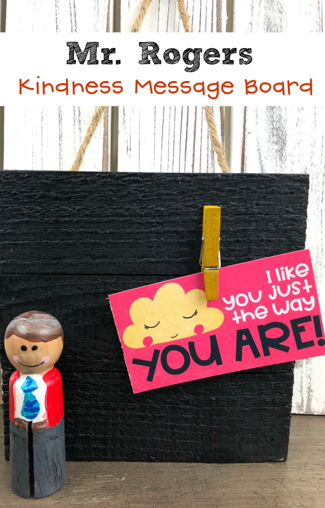Mr. Rogers Kindness Message Board