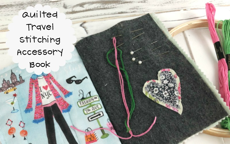 Quilted Travel Stitching Accessory Book