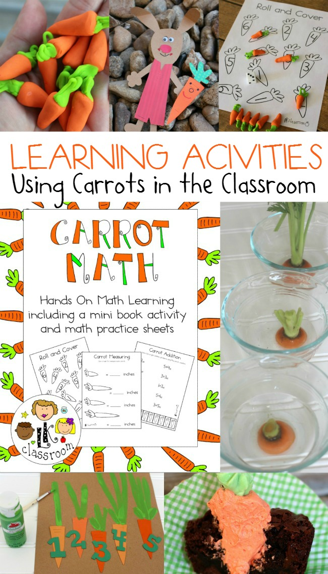 Carrot Math and Learning Activity Pack