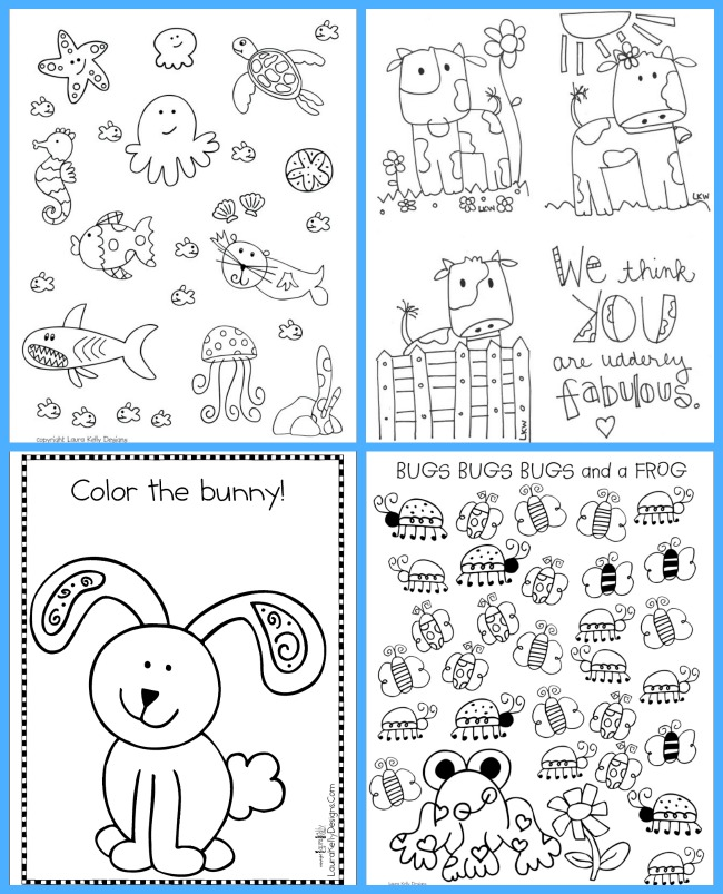 Coloring Pages Laura Kelly Free Printable Library