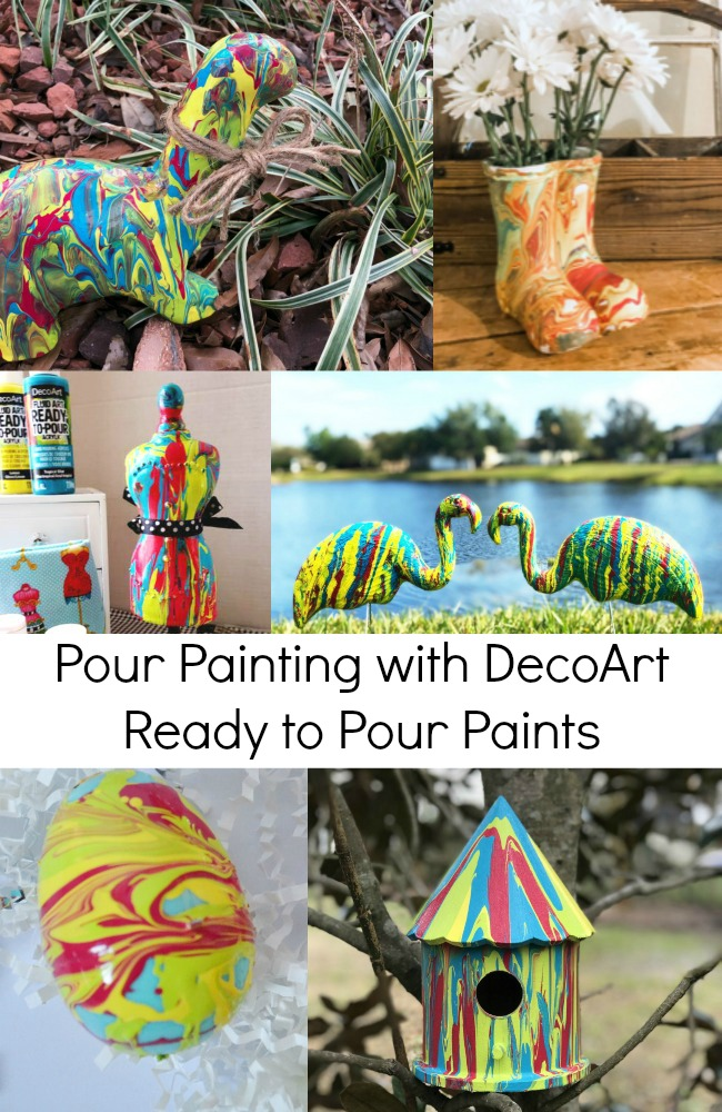 DecoArt Pour Painting Tips and Tricks