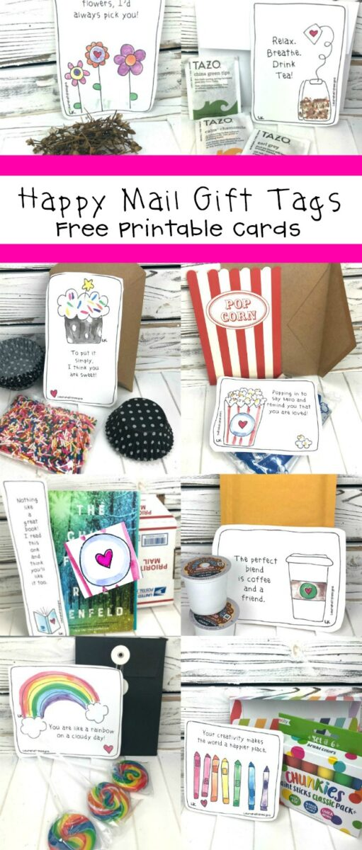 Happy Mail Gift Tags Free Printable Cards