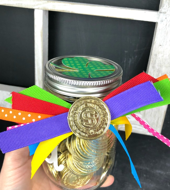 Jar Craft Bow St Patricks Day