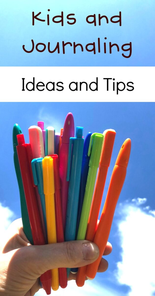 Kids and Journaling Ideas and tIPS
