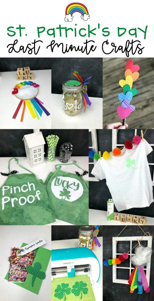 Last MInute St Patricks Crafts